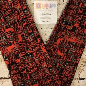 LuLaRoe Leggings Horse OS Size 2-10 New In Package